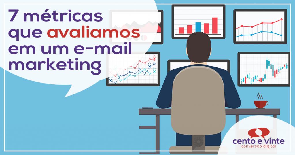 7 métricas que avaliamos em um e-mail marketing 2