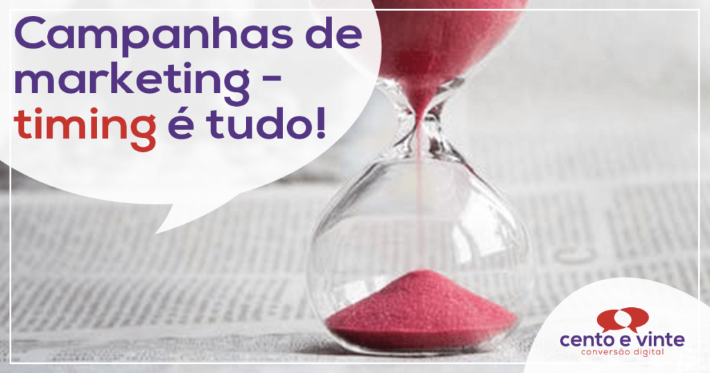 Campanhas de marketing - Timing é TUDO! 1