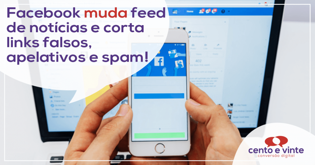 Facebook muda feed de notícias e corta links falsos, apelativos e spam 1