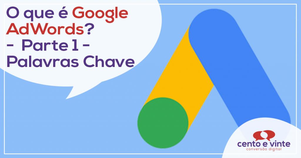 O que é o Google AdWords? – Parte 1 – Palavras Chave 1