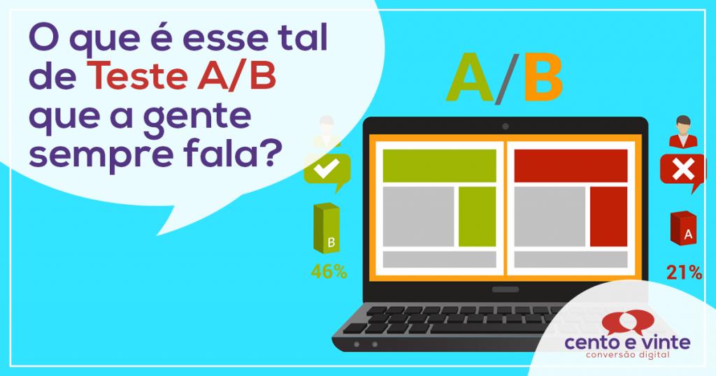 O que é esse tal de teste A/B que a gente sempre fala? 2