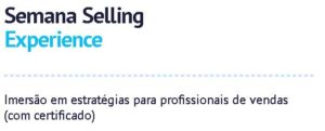 Semana Selling Experience @ Online